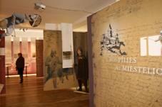 """Naujausios Alytaus kraštotyros muziejaus ekspozicijos """"Gyvenimas abipus Nemuno"""" fragmentas"""