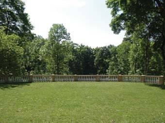 Plungės kunigaikščių Oginskių parko fragmentas