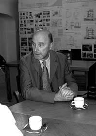Krokuvos vavelio karališkosios pilies direktorius prof. Jan K. Ostrowski